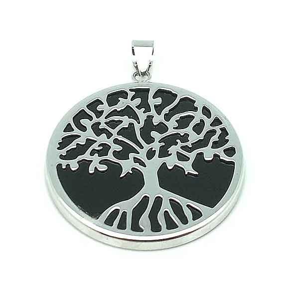 Pearl pendant life tree