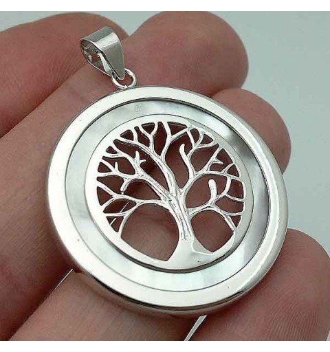 Tree of Life pendant pearl