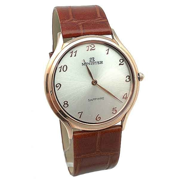 Minister gentleman Clock