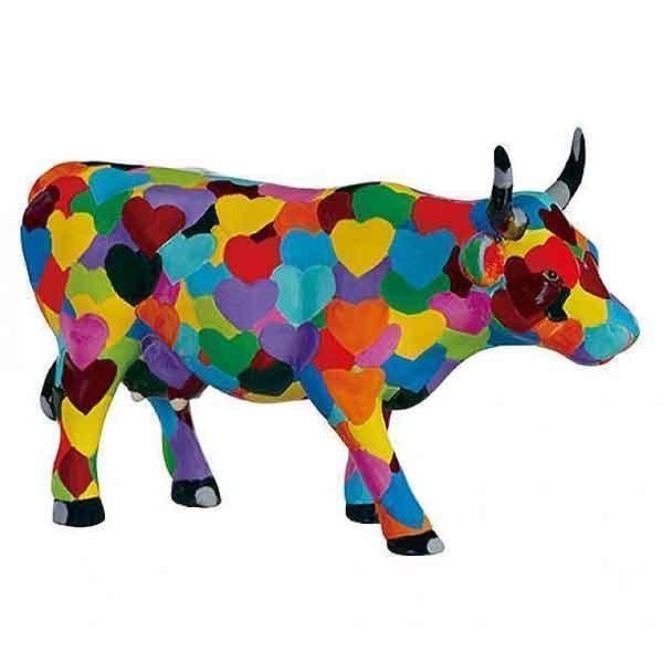 Heartstanding Cow Medium
