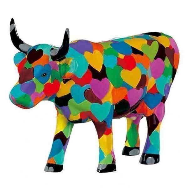 Vaca Heartstanding Cow