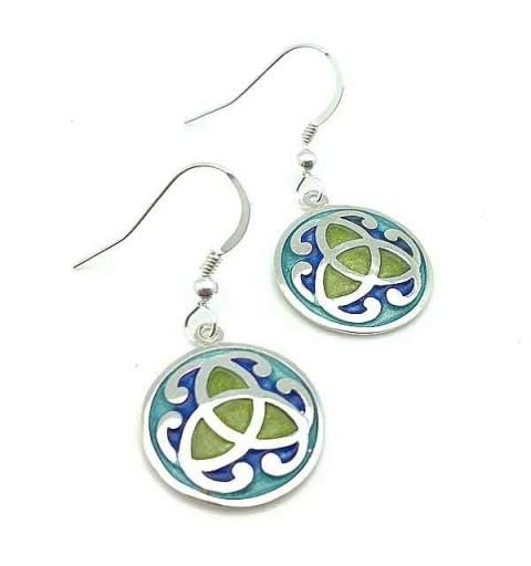 Celtic earrings in silver