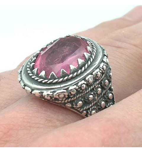 Silver Ring, bishop type