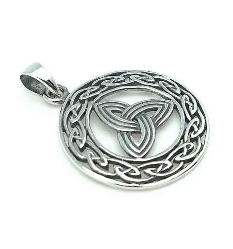 Celtic pendant triqueta