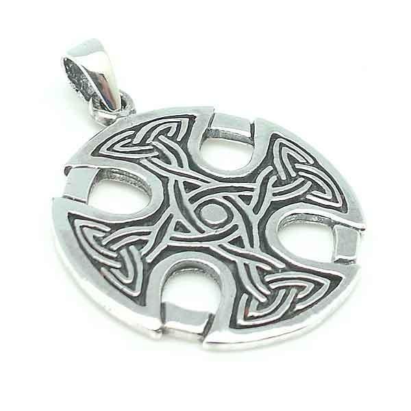Colgante cruz celta