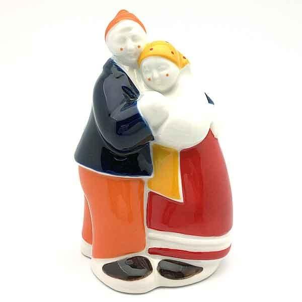 Galician Dancing couple