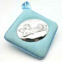 Medalla para cuna o carrito azul
