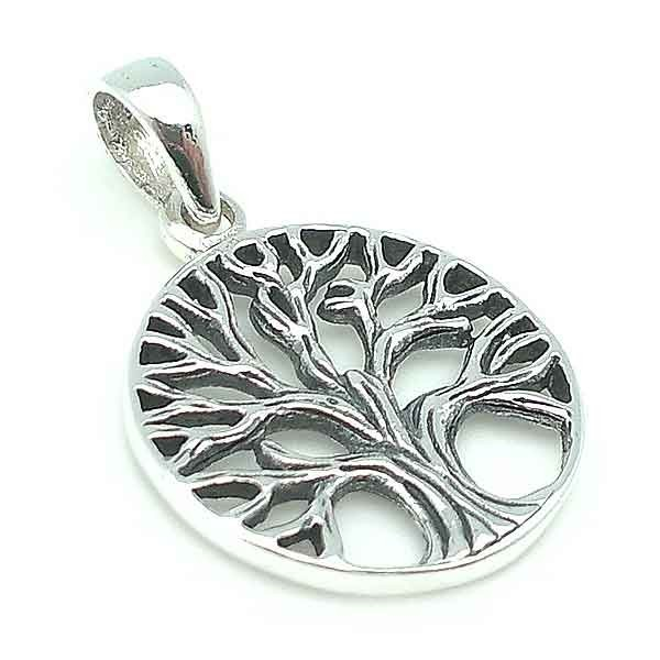 Tree of Life pendant in silver