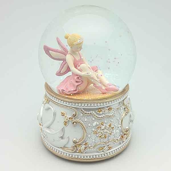 Bola de nieve con bailarina